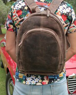 Gina - Buffalo - Brown - Backpack