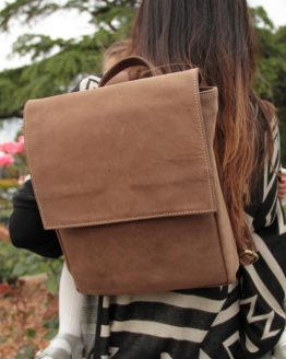Karen - Buffalo - Brown - Backpack