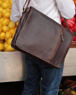Serge - Cow Leather - Burgundy - Messenger Bag