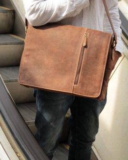 Serge - Buffalo - Brown Messenger Bag
