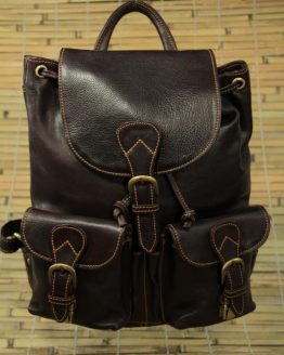 Anita Medium - Cow Leather - Burgundy - Backpack