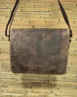 Barton - Buffalo - Brown - Messenger Bag