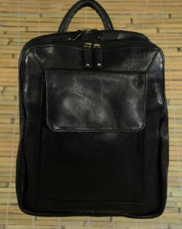 Gabby - Cow Leather - Black - Backpack