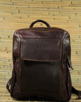 Gabby - Cow Leather - Burgundy - Backpack