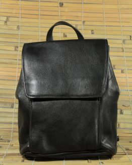 Lucy - Cow Leather - Black - Backpack