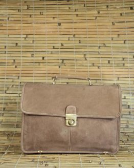 Paul - Buffalo - Brown - Briefcase