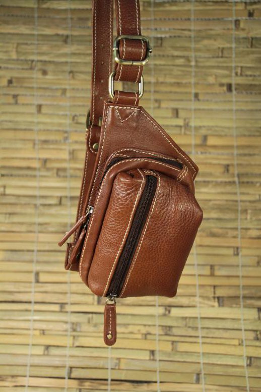 Sonny - Cow Leather - Brown - Beltpack