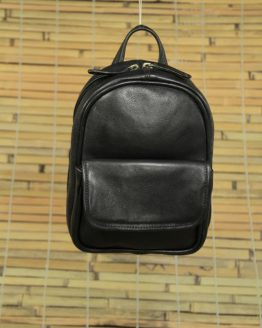 Suzy Small - Cow Leather - Black - Backpack