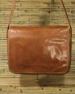 Victor - Cow Leather - Cognac - Messenger Bag