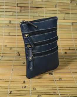Achilles - Cow Leather - Blue - Crossbody Bag